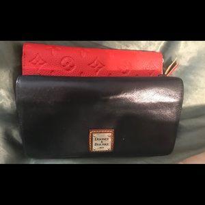2Dooney Burke & 1Coach Wallet w/ a free red gift